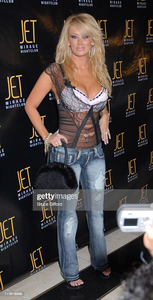 Jenna jameson during victoria s secret las vegas store one year