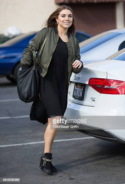 Jenna Johnson is seen in Hollywood on February 28 2015 in Los Angeles California