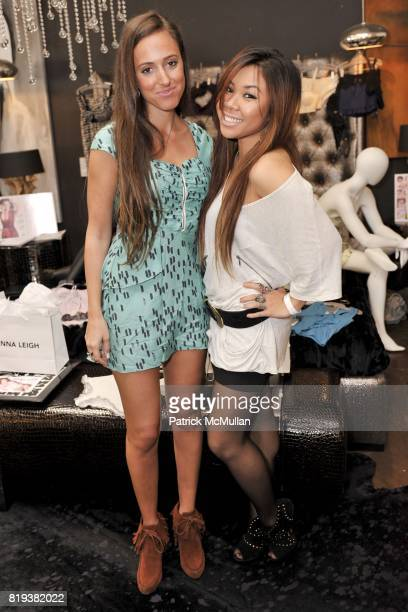 Jenna Leigh and attend Silver Spoon Presents Oscar Weekend Red Cross Event For Haiti Relief at Interior Illusions on March 3 2010 in West Hollywood...