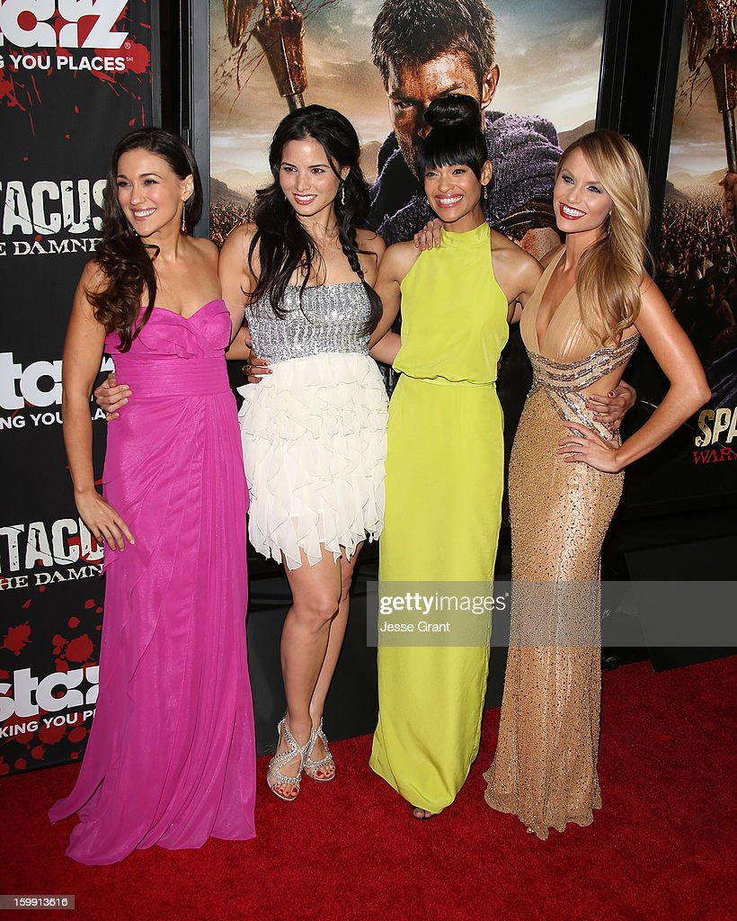 """""""Spartacus: War Of The Damned"""" - Los Angeles Premiere - Arrivals"""