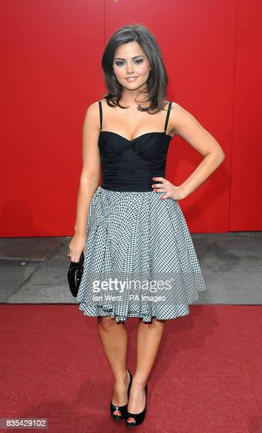 Jenna Louise Coleman arrives for the 2009 British Soap Awards at the BBC Television Centre Wood Lane London