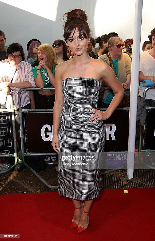 Jenna Louise Coleman attends Glamour Women of the Year Awards 2013 at Berkeley Square Gardens on June 4, 2013 in London, England.