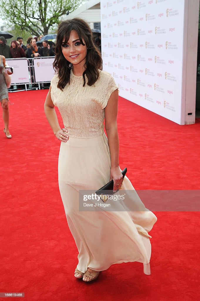 Jenna Louise Coleman attends the BAFTA TV Awards 2013 at The Royal Festival Hall on May 12, 2013 in London, England.