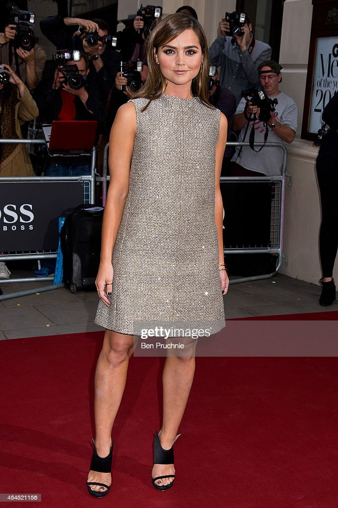 Jenna Louise Coleman attends the GQ men of the year awards at The Royal Opera House on September 2, 2014 in London, England.