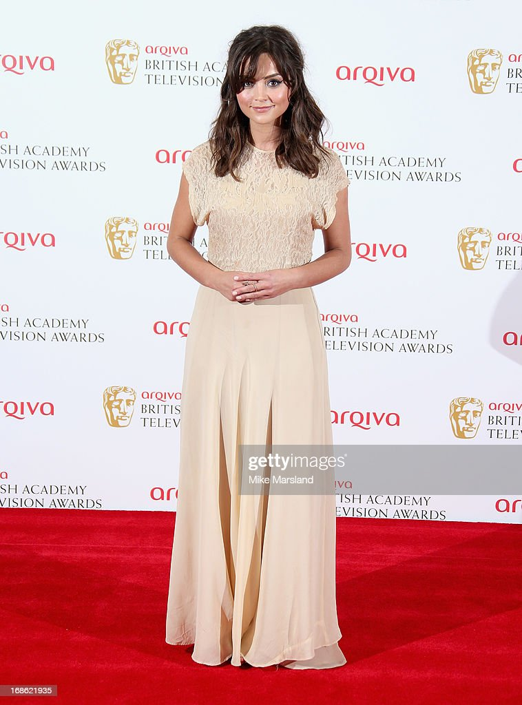 Jenna Louise Coleman during the Arqiva British Academy Television Awards 2013 at the Royal Festival Hall on May 12, 2013 in London, England.