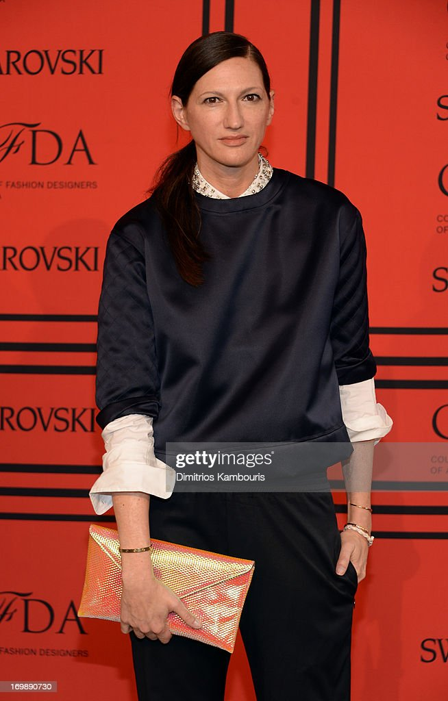 <a gi-track='captionPersonalityLinkClicked' href=/galleries/search?phrase=Jenna+Lyons&family=editorial&specificpeople=5800179 ng-click='$event.stopPropagation()'>Jenna Lyons</a> attends 2013 CFDA Fashion Awards at Alice Tully Hall on June 3, 2013 in New York City.