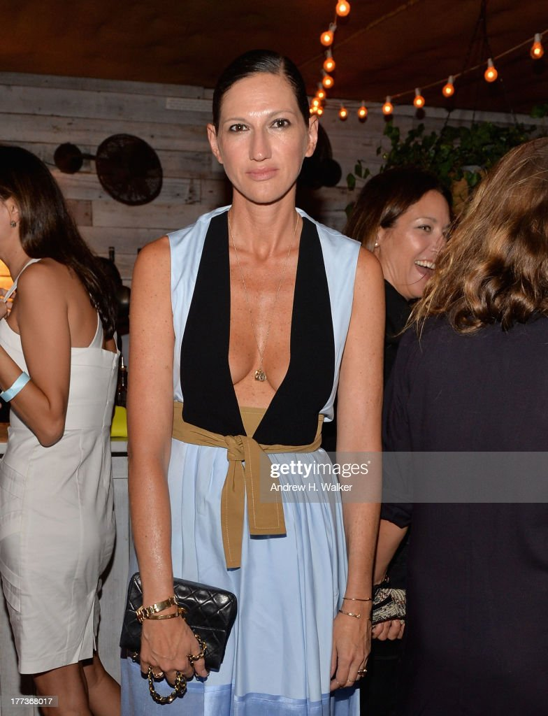 Jenna Lyons attends Soho House New York's 10th birthday celebration with a live performance by Mumford and Sons on the roof top at Soho House on August 22, 2013 in New York City.