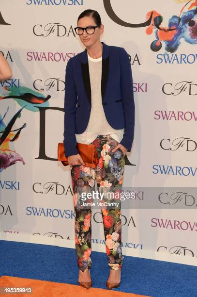 Jenna Lyons attends the 2014 CFDA fashion awards at Alice Tully Hall Lincoln Center on June 2 2014 in New York City