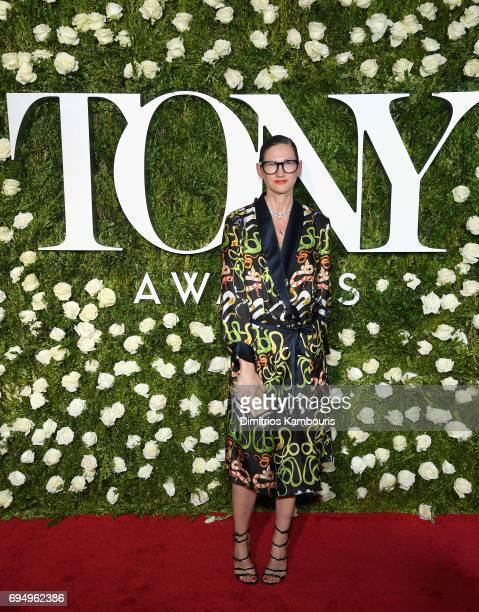 Jenna Lyons attends the 2017 Tony Awards at Radio City Music Hall on June 11 2017 in New York City