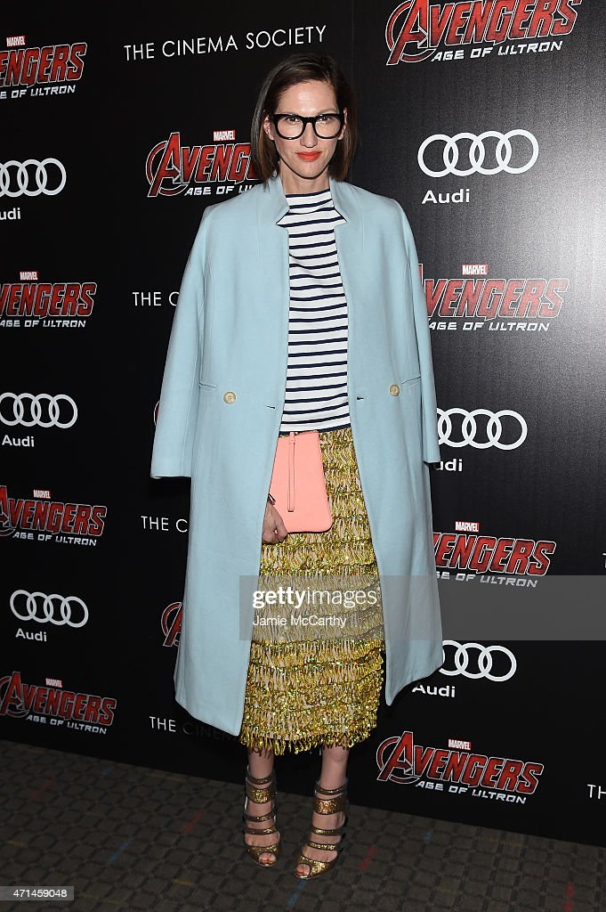 """The Cinema Society & Audi Host A Screening Of Marvel's """"Avengers: Age Of Ultron"""" - Inside Arrivals"""
