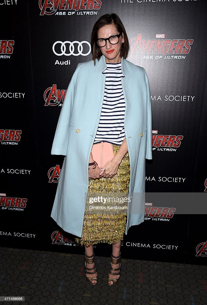 """The Cinema Society & Audi Host A Screening Of Marvel's """"Avengers: Age of Ultron""""- Arrivals"""
