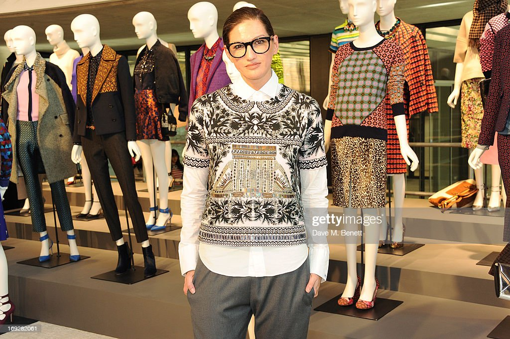 Jenna Lyons attends the J.Crew concept store to launch their partnership with Central Saint Martins College Of Arts And Design at The Stables on May 22, 2013 in London, England.