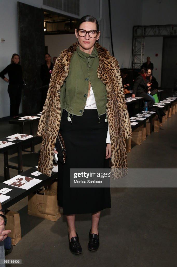 Zero + Maria Cornejo - Front Row - February 2017 - New York Fashion Week