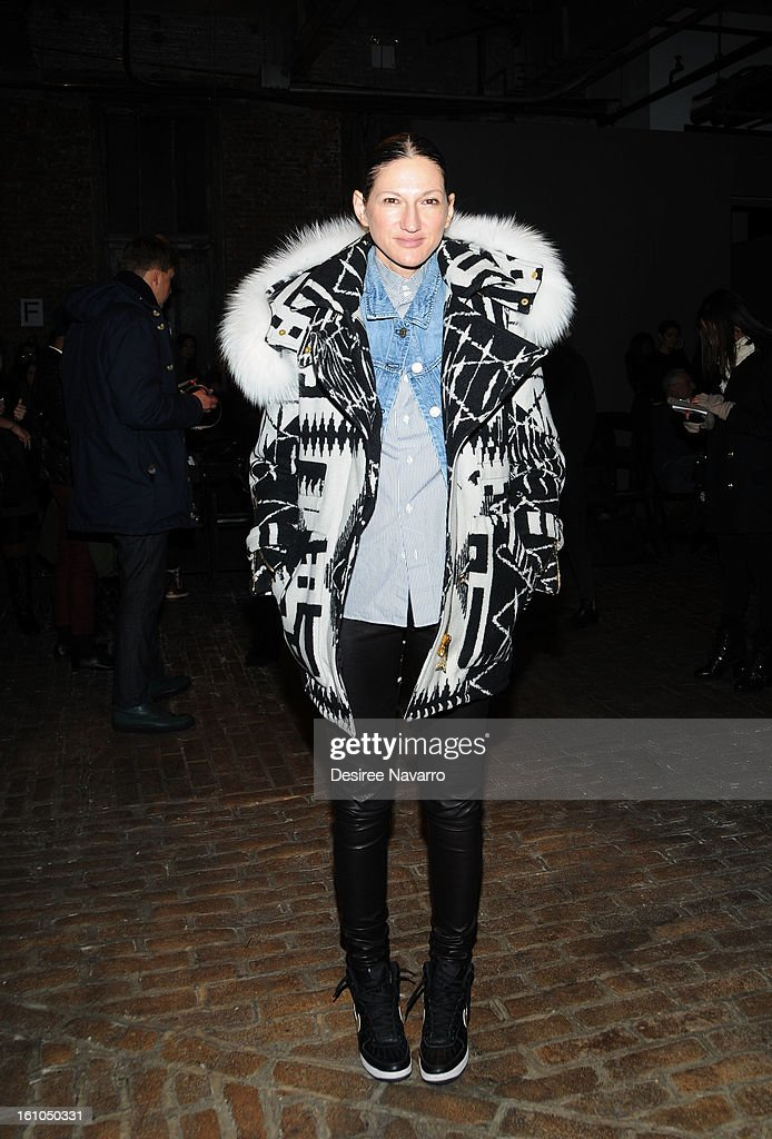 Jenna Lyons, J.Crew's President, Executive Creative Director attends Yigal Azrouel during Fall 2013 Mercedes-Benz Fashion Week at Highline Stages on February 8, 2013 in New York City.