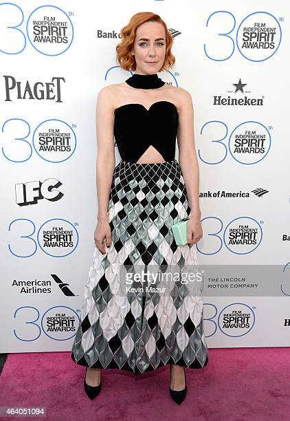 Jenna Malone attends the 2015 Film Independent Spirit Awards at Santa Monica Beach on February 21 2015 in Santa Monica California