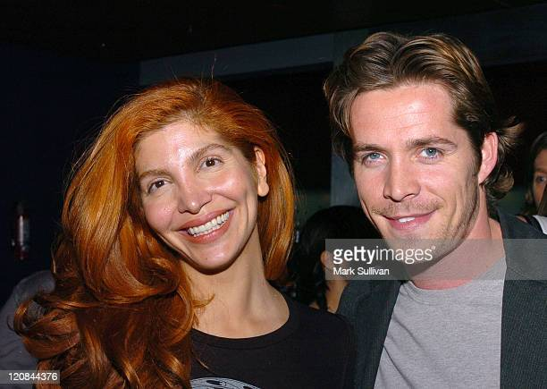 Jenna Mattison and Sean Maguire during 'The Third Wish' Private Screening in Los Angeles at CineSpace in Hollywood California United States