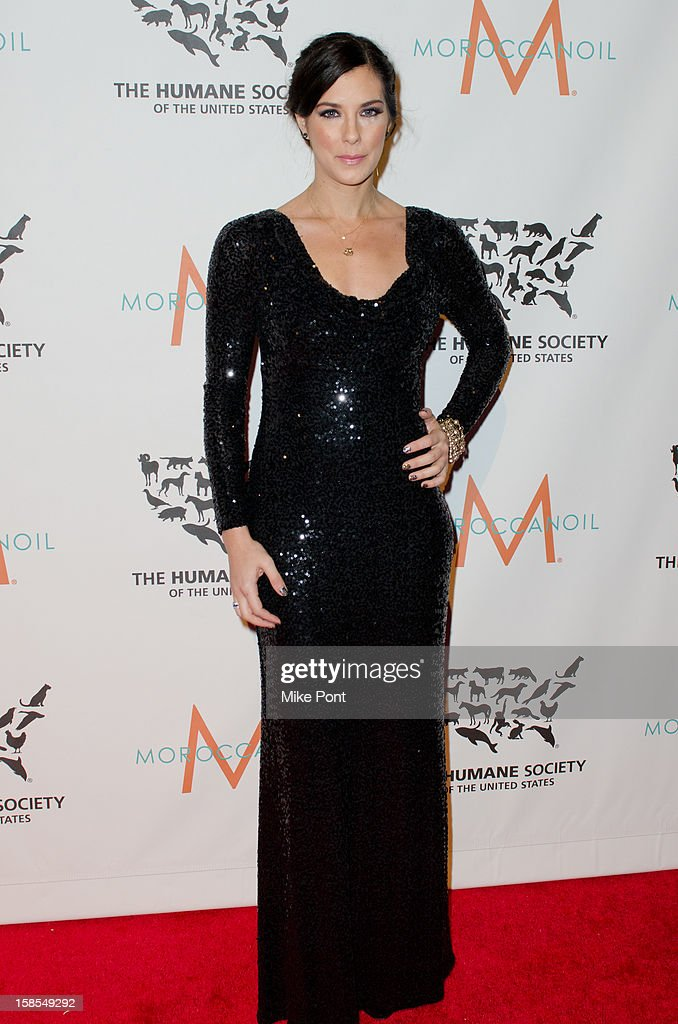 Jenna Morasca attends The Humane Society of the United States presents the To The Rescue! gala benefiting post hurricane Sandy efforts at Cipriani 42nd Street on December 18, 2012 in New York City.