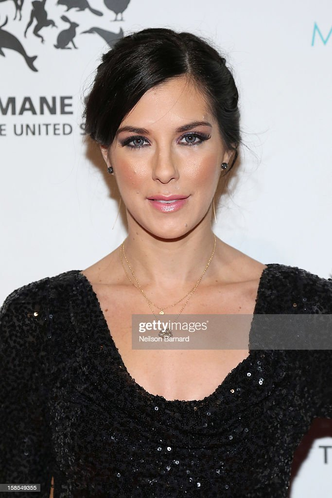 Jenna Morasca attends The Humane Society of the United States' To the Rescue! New York Gala at Cipriani 42nd Street on December 18, 2012 in New York City.