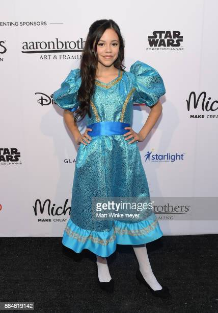 Jenna Ortega at the Dream Halloween 2017 Costume Party Benefitting Starlight Children's Foundation presented by Michaels and Aaron Brothers at The...