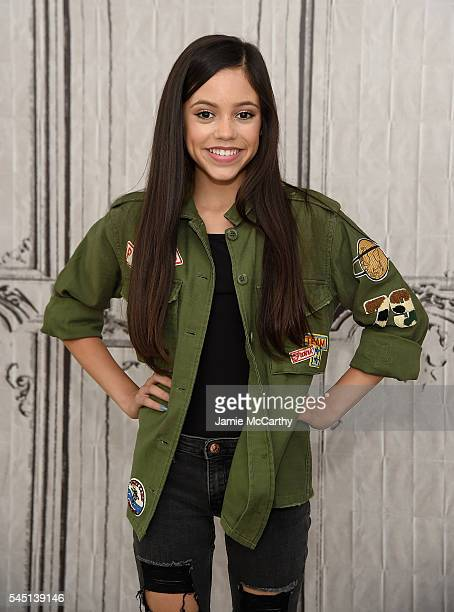 Jenna Ortega attends AOL Build Speaker Series Jenna Ortega 'Jane the Virgin' at AOL Studios In New York on July 5 2016 in New York City