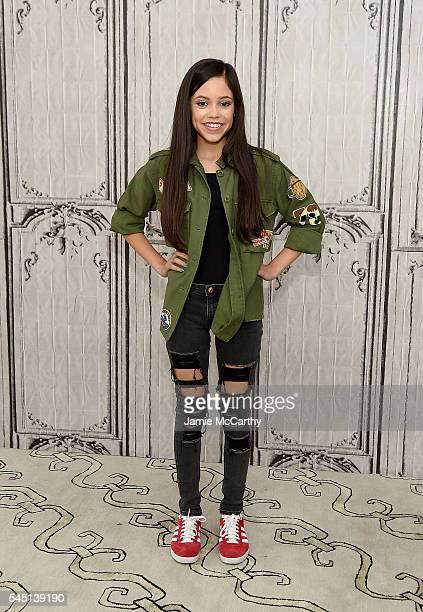 Jenna Ortega attends AOL Build Speaker Series Jenna Ortega 'Jane the Virgin' at AOL Studios In New York on July 5 2016 in New York City