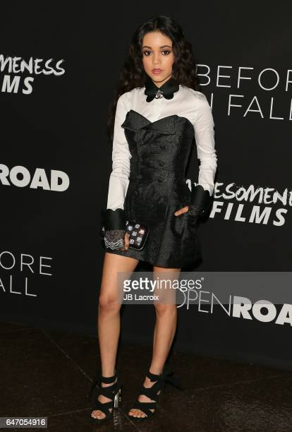 Jenna Ortega attends the premiere of Open Road Films' 'Before I Fall' on March 01 2017 in Los Angeles California