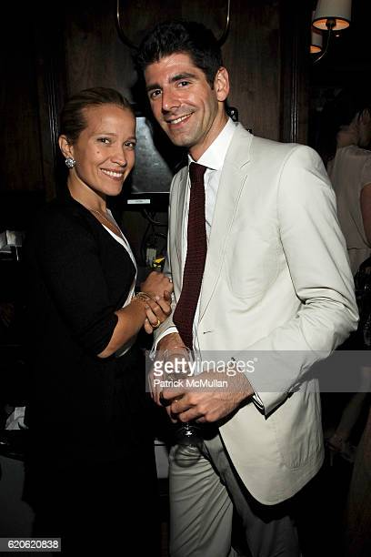 Jenna Pascual and Daniel Cappello attend YAZ and VALENTINE HERNANDEZ Private Dinner for CHRISTIAN COTA at Brasserie Cognac on September 10 2008 in...