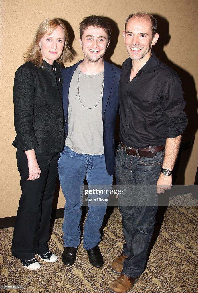 Celebrities Visit Broadway - June 17, 2008