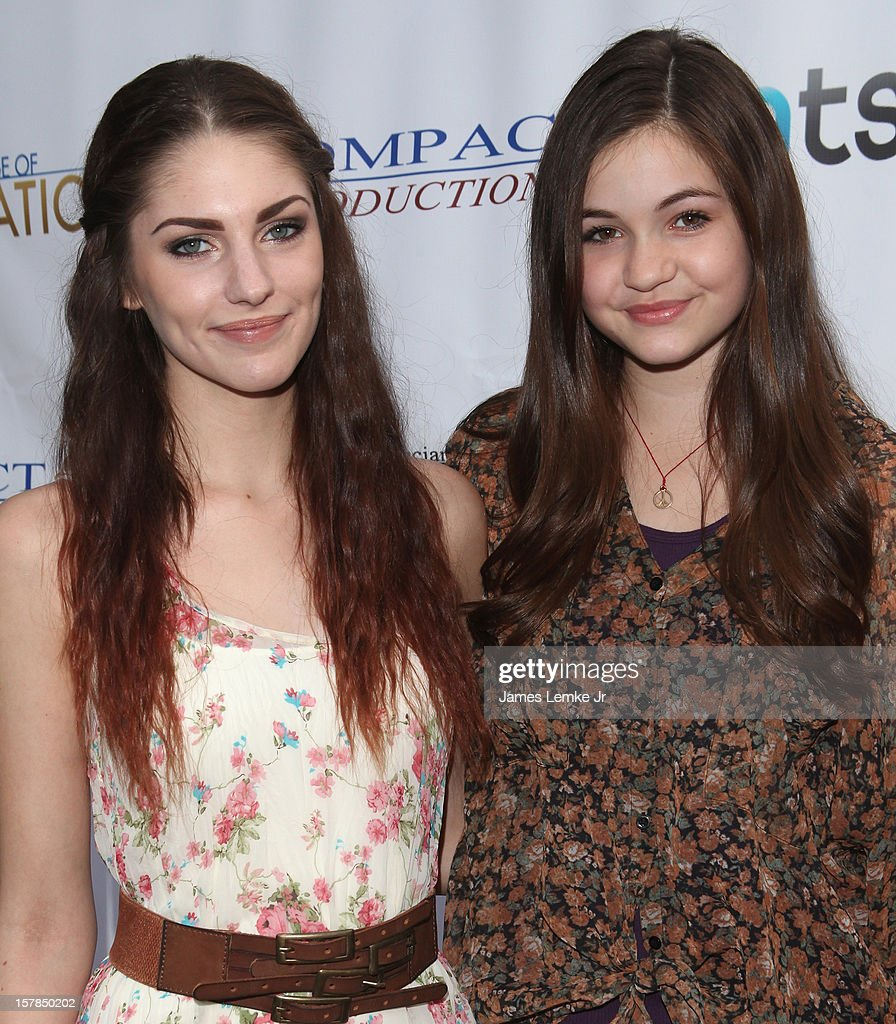 Jenna Stone and Megen Raich attend the 'Edge Of Salvation' Los Angeles Premiere held at the ArcLight Sherman Oaks on December 6, 2012 in Sherman Oaks, California.