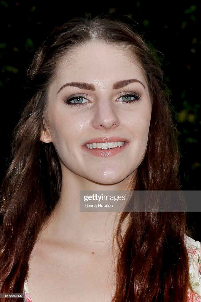 Jenna Stone attends the 'Edge Of Salvation' Los Angeles premiere at ArcLight Cinemas on December 6, 2012 in Hollywood, California.