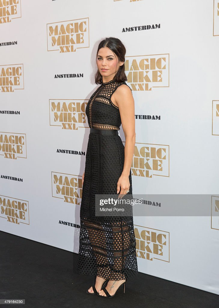 Jenna Tatum attends the Amsterdam premiere of 'Magic Mike XXL' on July 1 2015 in Amsterdam Netherlands