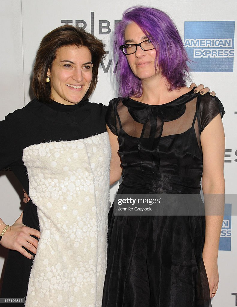 Jenna Terranova and Director <a gi-track='captionPersonalityLinkClicked' href=/galleries/search?phrase=Laurie+Collyer&family=editorial&specificpeople=761570 ng-click='$event.stopPropagation()'>Laurie Collyer</a> attends the screening of 'Sunlight Jr.' during the 2013 Tribeca Film Festival at BMCC Tribeca PAC on April 20, 2013 in New York City.