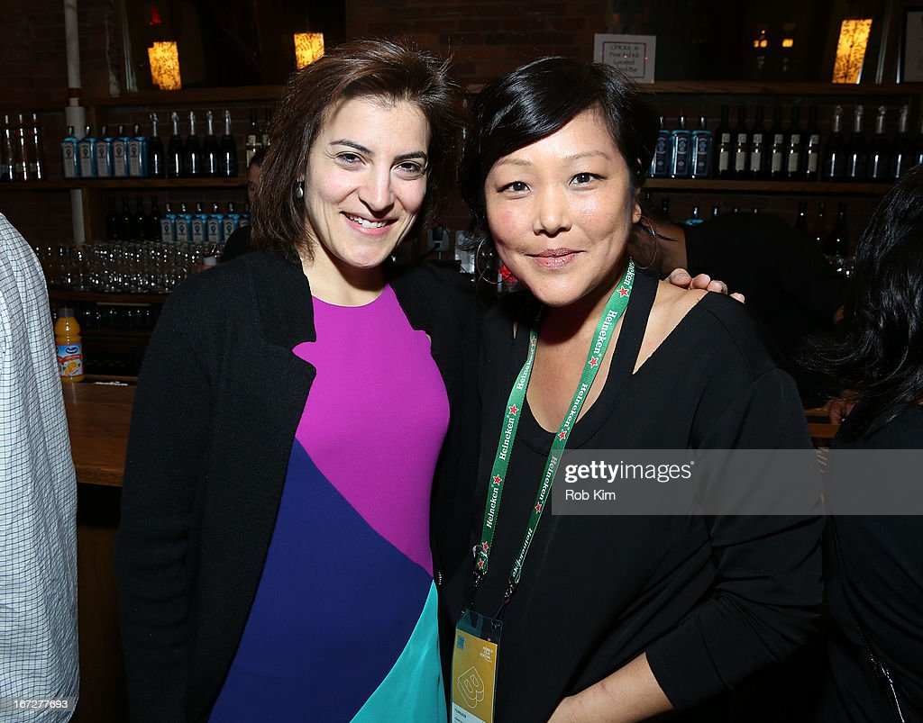 Jenna Terranova (L) attends the Directors Brunch during the 2013 Tribeca Film Festival on April 23, 2013 in New York City.