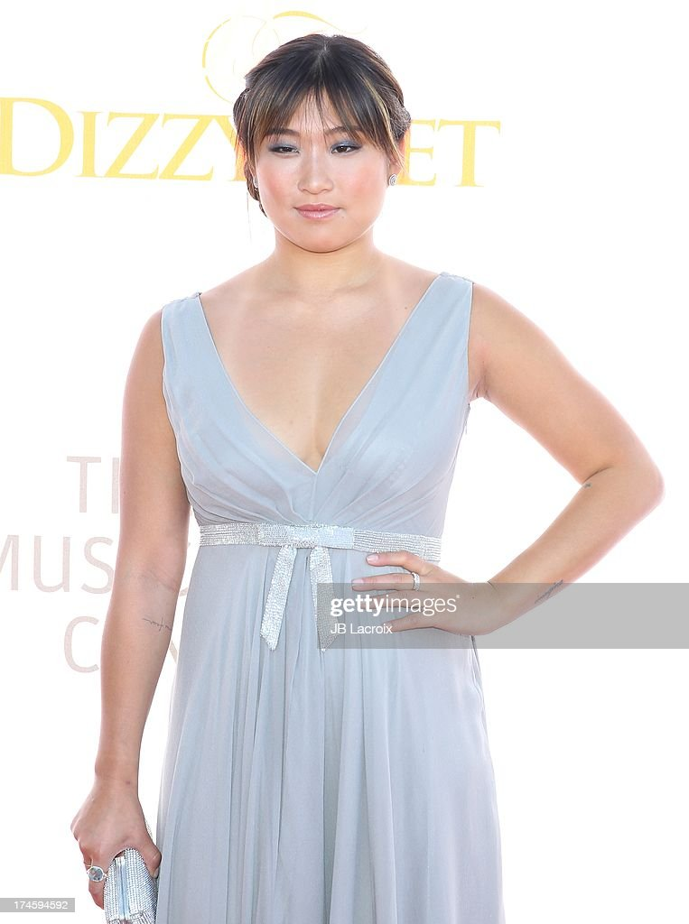 <a gi-track='captionPersonalityLinkClicked' href=/galleries/search?phrase=Jenna+Ushkowitz&family=editorial&specificpeople=4863323 ng-click='$event.stopPropagation()'>Jenna Ushkowitz</a> attends the 3rd Annual Celebration Of Dance Gala held at Dorothy Chandler Pavilion on July 27, 2013 in Los Angeles, California.