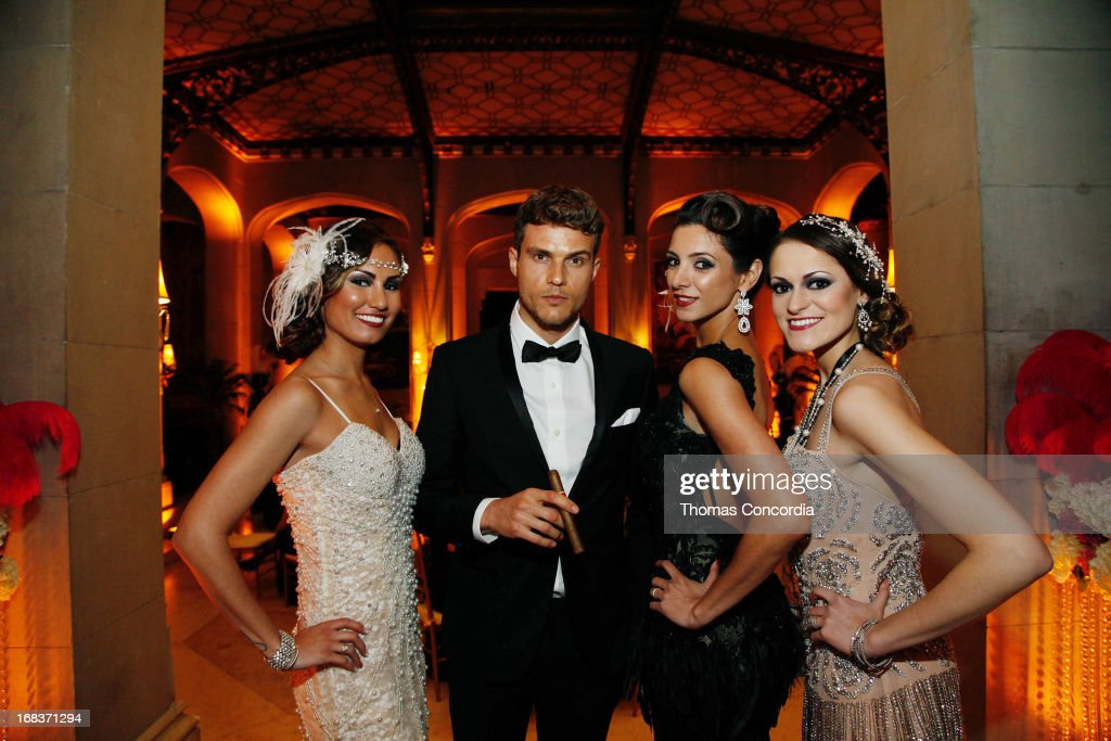 Jenna Vent, Ryan Cooper, Desiree Gatchalian and Jessica Cury attend Baz Luhrmann & Gold Coast Int'l Film Festival host 'The Great Gatsby' on May 8, 2013 in Port Washington, New York.