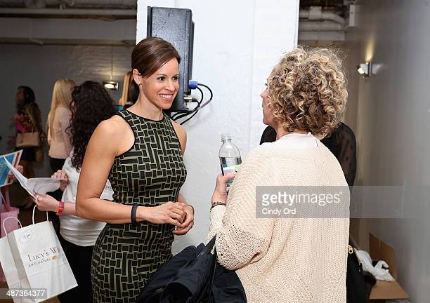 Jenna Wolfe attends Big City Moms Biggest Baby Shower on April 29 2014 in New York City
