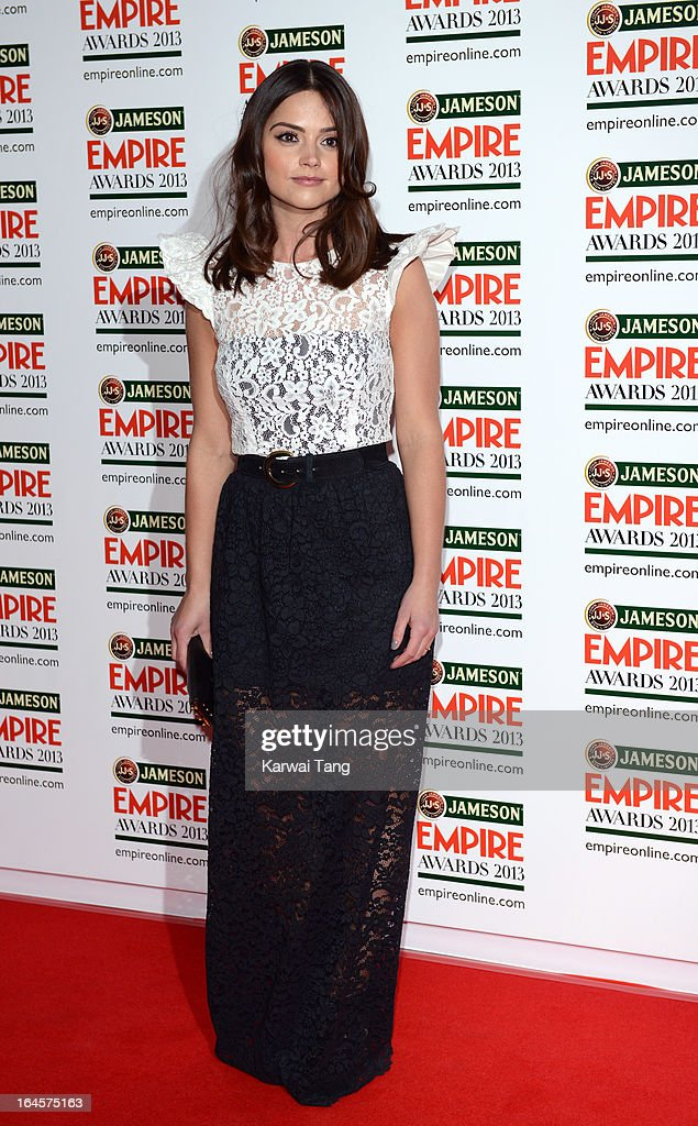 Jenna-Louise Coleman attends the 18th Jameson Empire Film Awards at Grosvenor House, on March 24, 2013 in London, England.