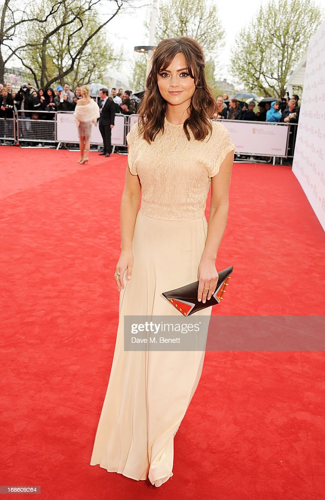 Jenna-Louise Coleman attends the Arqiva British Academy Television Awards 2013 at the Royal Festival Hall on May 12, 2013 in London, England.