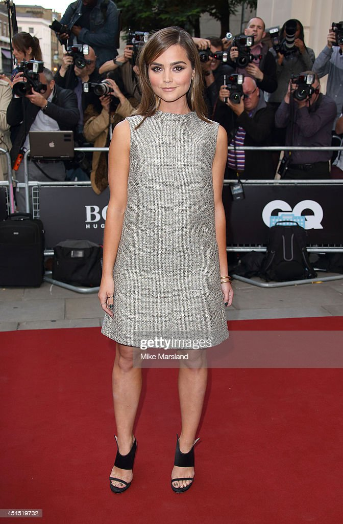 Jenna-Louise Coleman attends the GQ Men of the Year awards at The Royal Opera House on September 2, 2014 in London, England.