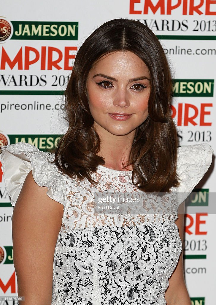 Jenna-Louise Coleman attends the Jameson Empire Film Awards at The Grosvenor House Hotel on March 24, 2013 in London, England.