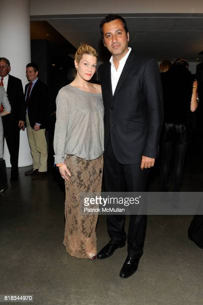 Jenne Lombardo and Mazdack Rassi attend THE BEAUTY OF HEALTH RESIZING THE SAMPLE SIZE at MILK Studios on February 9 2010 in New York City