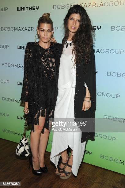 Jenne Lombardo and Pamela Love attend 2010 WHITNEY ART PARTY Presented by BCBGMAXAZRIA at 82Mercer on June 9 2010 in New York City