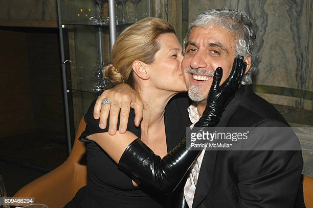 Jenne Lombardo and Ric Pipino attend MAC Cosmetics Honors RAQUEL WELCH at New York Palace Hotel on January 17 2007 in New York City