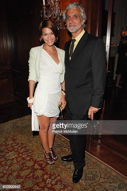 Jenne Lombardo and Ric Pipino attend NORDSTROM VOGUE host private cocktail in celebration of the NEW YORKERS FOR CHILDREN Fall Gala at Harold Pratt...