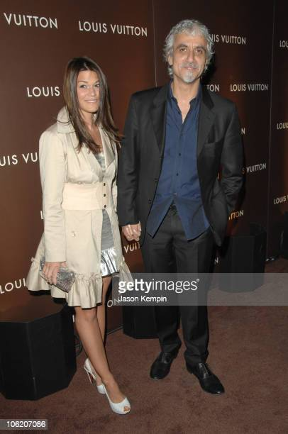 Jenne Lombardo and Ric Pipino during Louis Vuitton Host Party of LOVE May 3 2007 at Louis Vuitton 5th Avenue in New York City New York United States