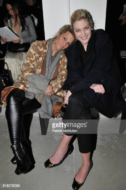 Jenne Lombardo and Sarah Robinson attend PARIS 68 Fall 2010 Collection by MARCELLA LINDEBERG at Milk Studios on February 18 2010 in New York City