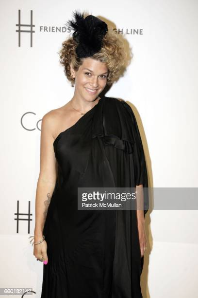 Jenne Lombardo attends Calvin Klein Collection Presents 'First Party on the Highline' at The High Line on June 15 2009 in New York City
