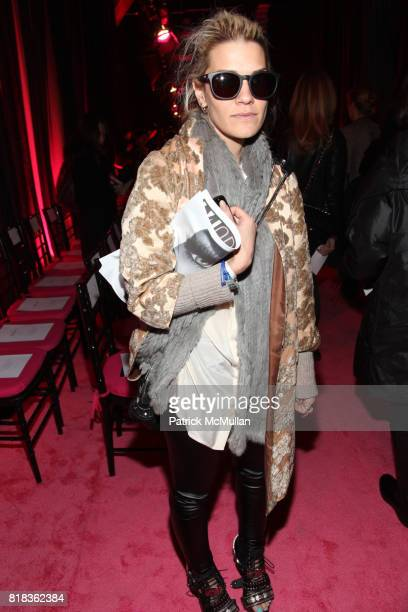 Jenne Lombardo attends JASON WU Fall 2010 Collection at 269 11TH Avenue on February 12 2010 in New York City