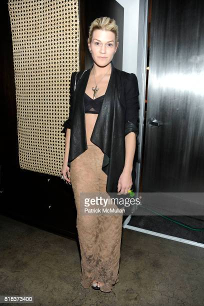 Jenne Lombardo attends MAC MILK host a Fashion Week Serenade at Milk Studios on February 14 2010 in New York City