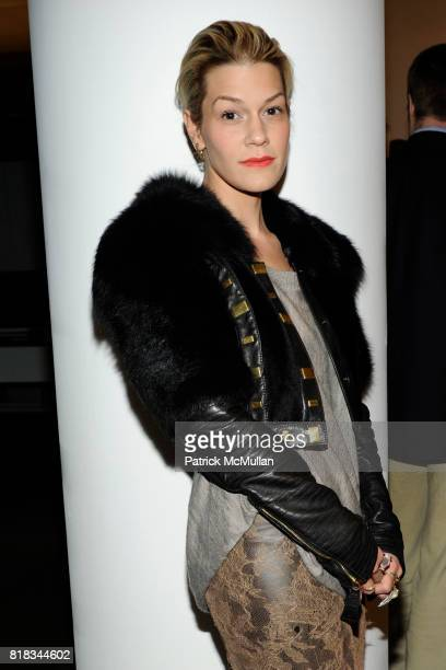 Jenne Lombardo attends THE BEAUTY OF HEALTH RESIZING THE SAMPLE SIZE at MILK Studios on February 9 2010 in New York City
